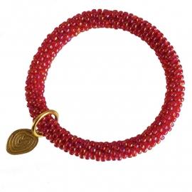 armband - Twist rainbow ruby bracelet