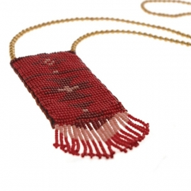 ketting - Malinalli red necklace