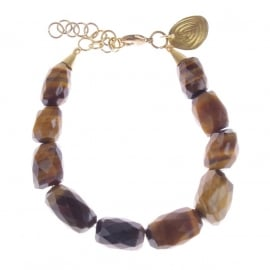 armband - All tigereye bracelet