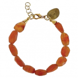 armband - All sunset bracelet carneool