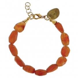 armband - All sunset bracelet carneool