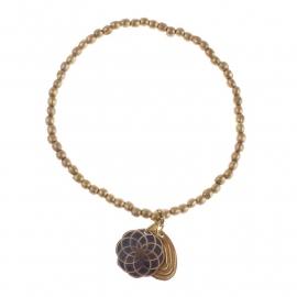 armband - Lily golden bracelet