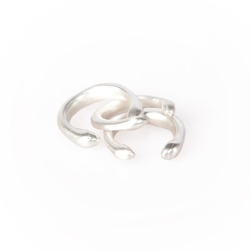 ring - Mwezi rings silver plated by Made Kenya