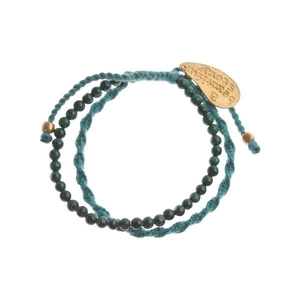 armband - Daze green bracelet