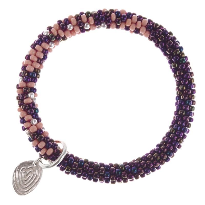 armband - Twist Iris bracelet