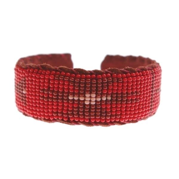 armband - Malinalli red bracelet