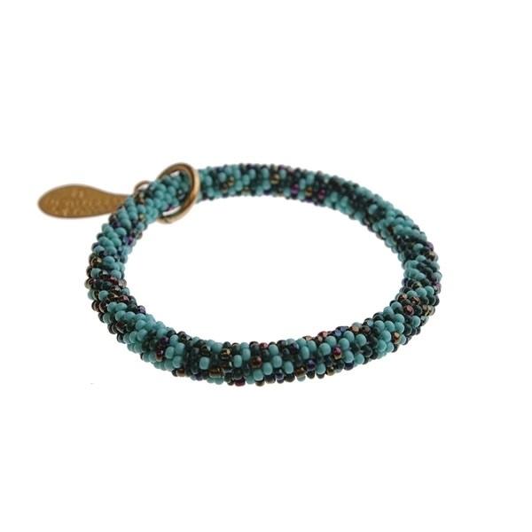armband - Twist sundry green bracelet