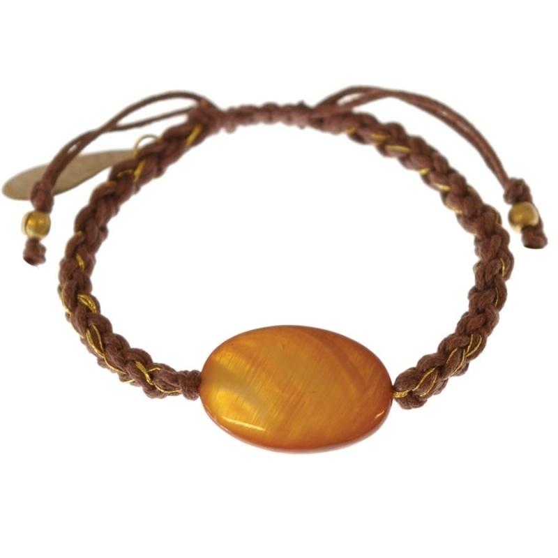 armband - Glare Brown bracelet