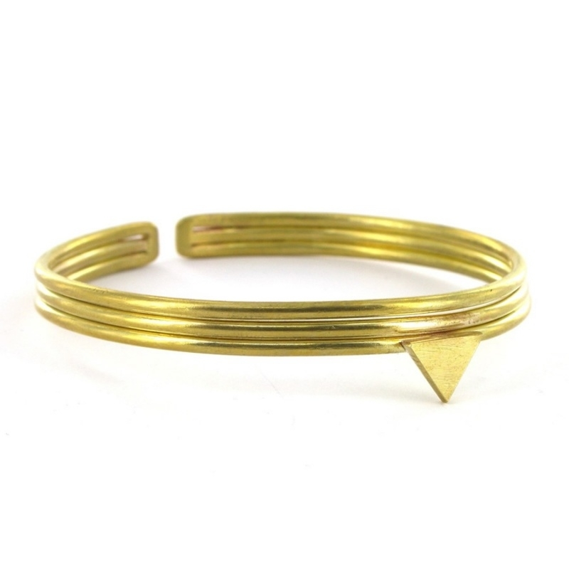 armband - Triangle Bangle by Made Kenya
