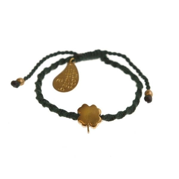 armband - Good luck green bracelet