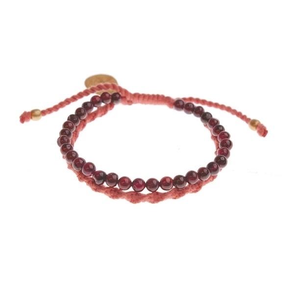 armband - Daze red bracelet