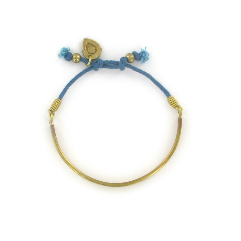 armband - Kakumbo Cord Bracelet blue by Made Kenya