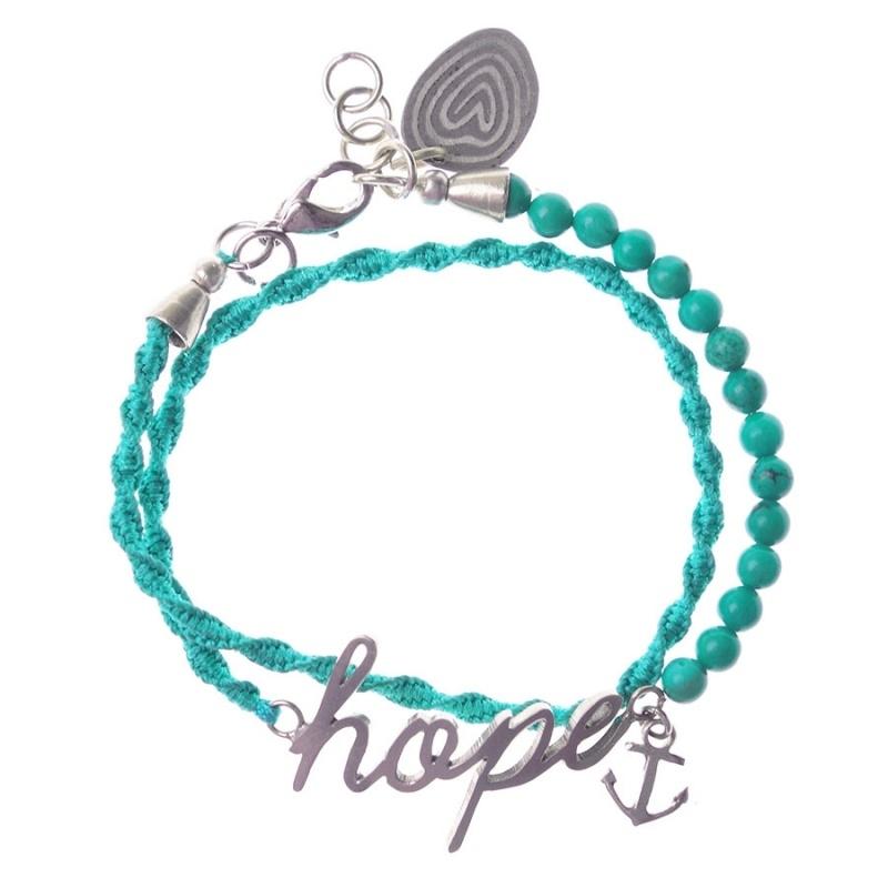 armband - I hope bracelet