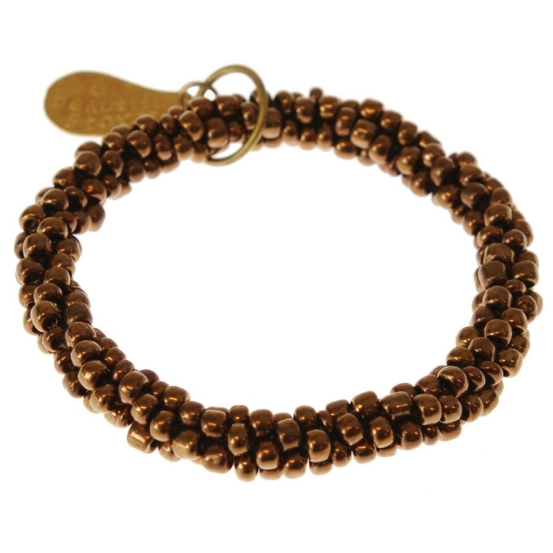 armband - Twist little copper bracelet