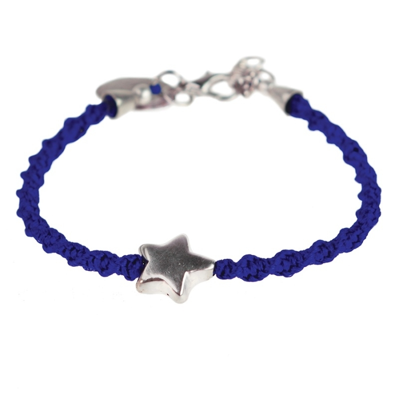 armband - Wish on a star cobalt bracelet