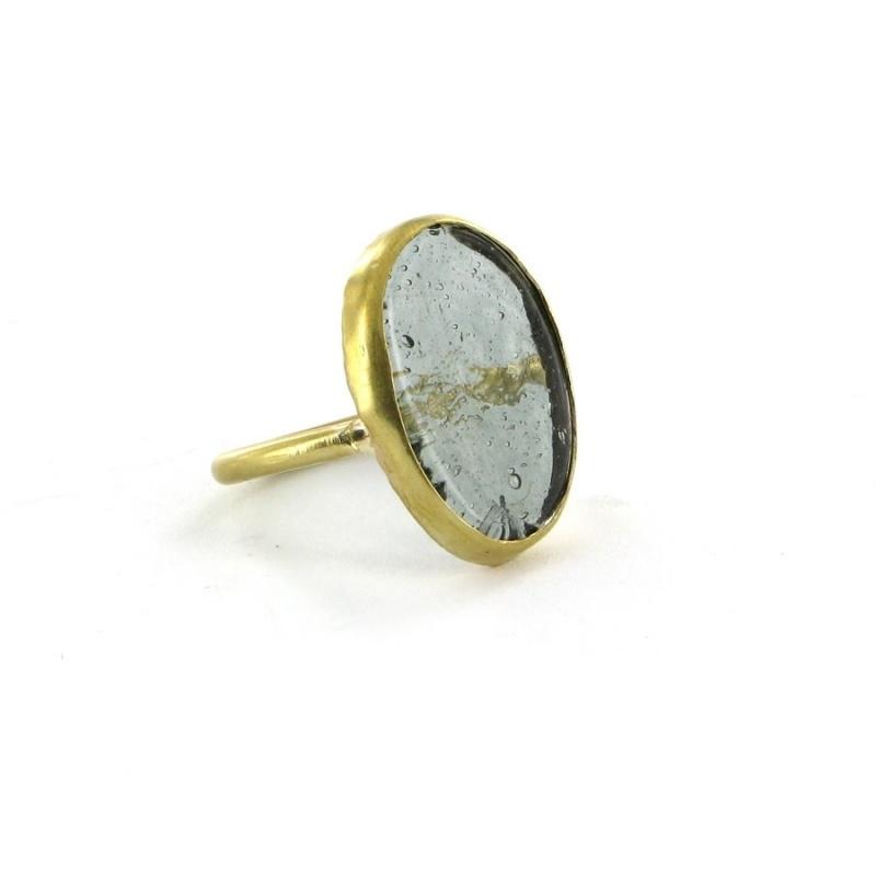 ring - Nthongo ring grey by Made Kenya
