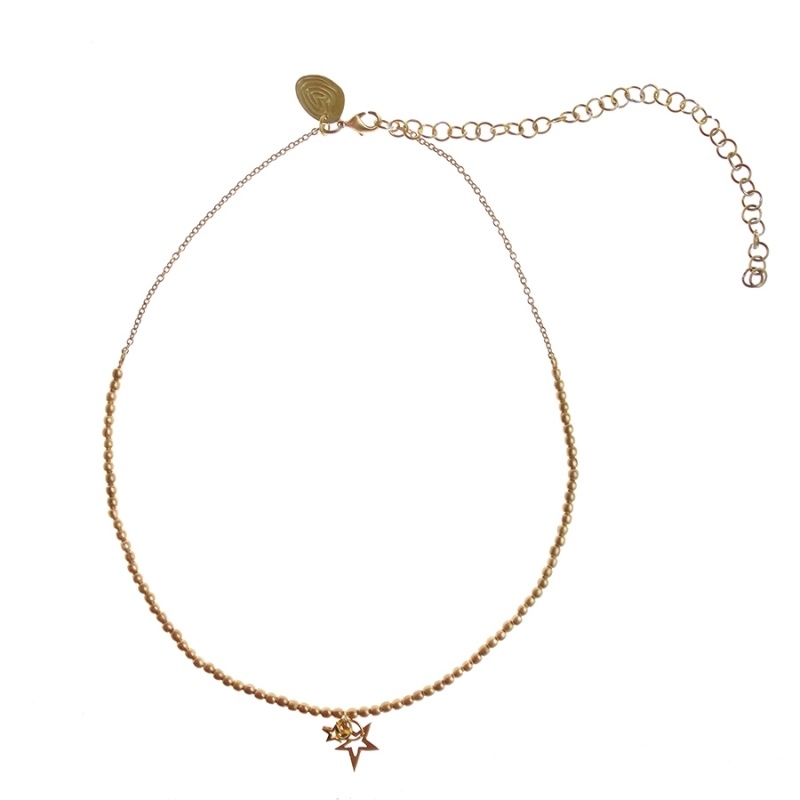 collier - Golden wishes necklace