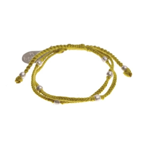 armband - Flash yellow bracelet