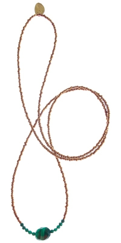 Chitra copper necklace