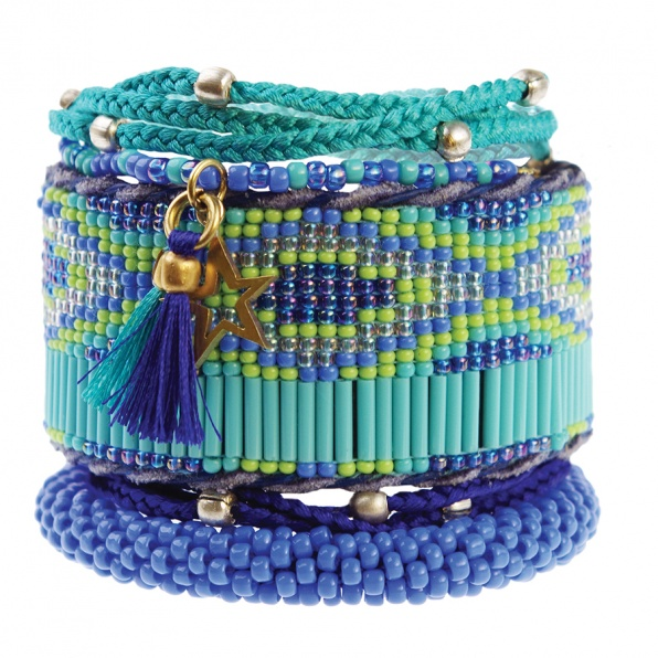turquoise armbanden aztec A Beautiful Story