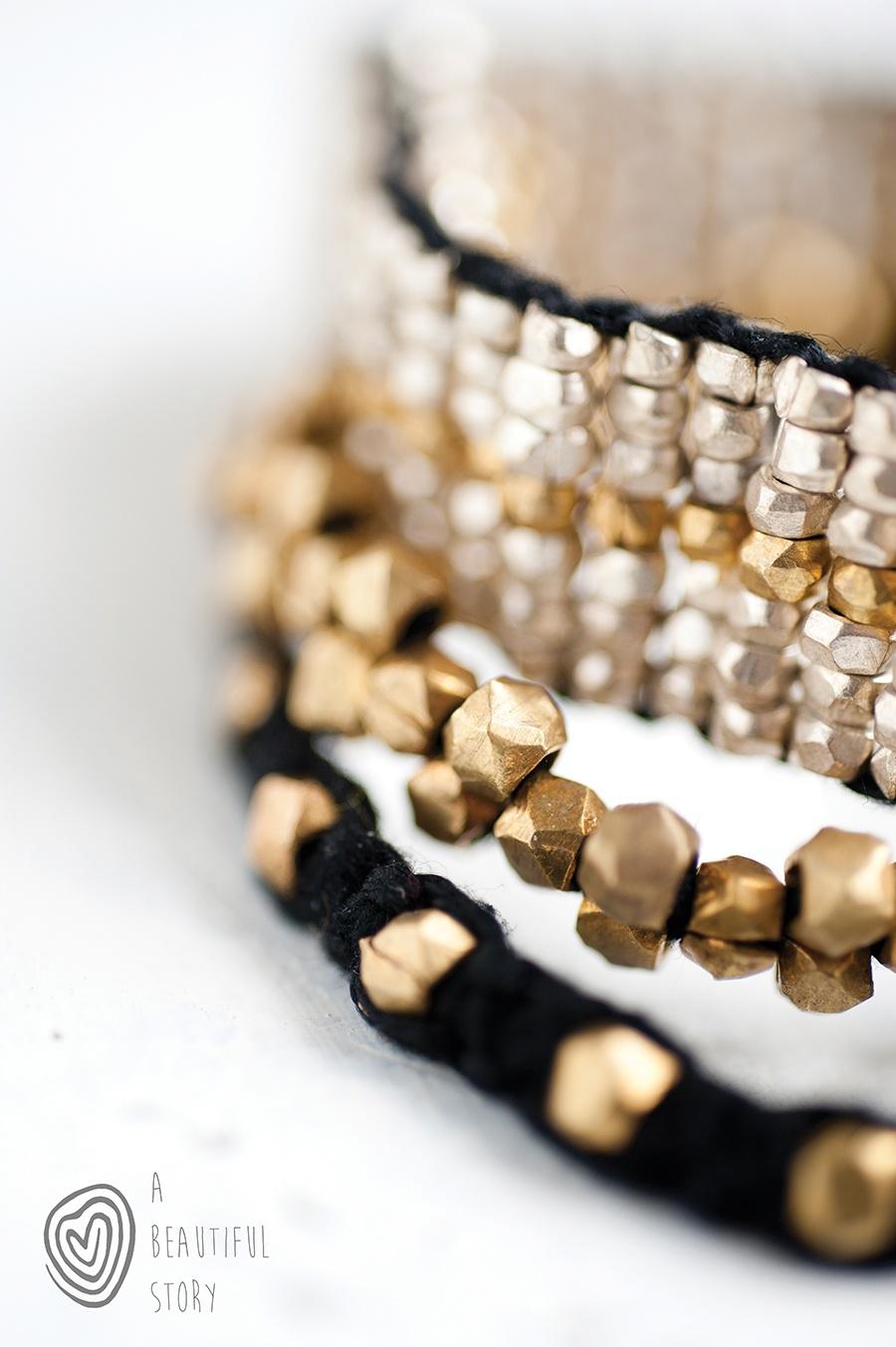 gouden armband Azra van A Beautiful Story