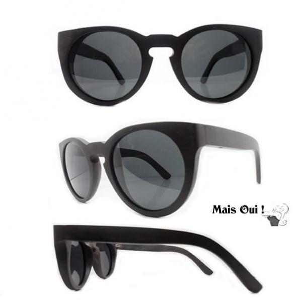 Mais Oui ! zonnebril vintage noir