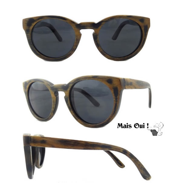 bamboe zonnebril van Mais Oui !