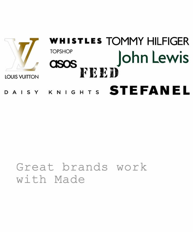 Great brands work with Made