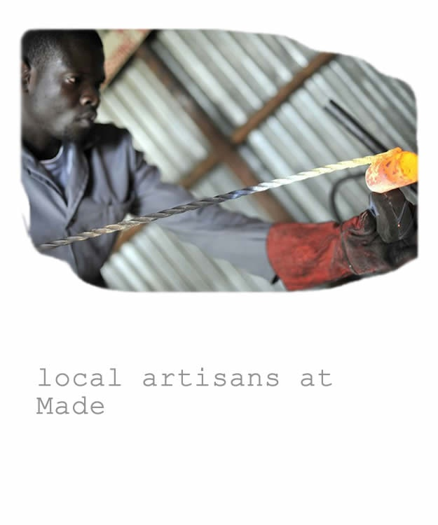 Local artisans at Made Kenya