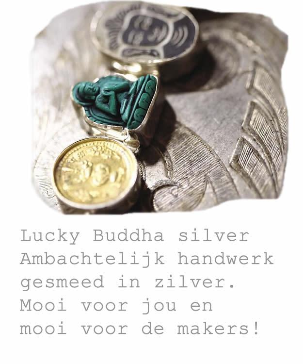 Lucky Buddha Silver