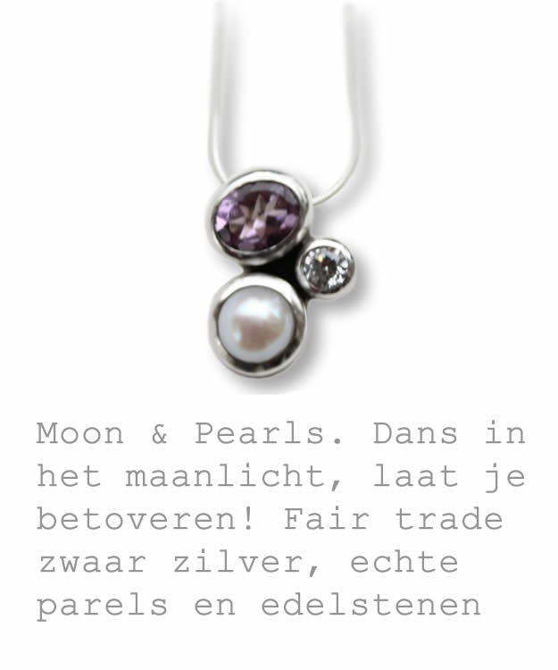 Moon & Pearl Jewellery