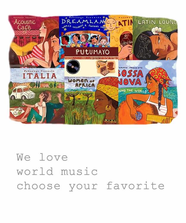 Wereldmuziek Putu Mayo