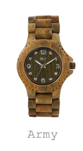 houten horloge army WeWood
