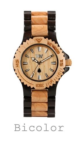 houten horloge bicolor WeWood