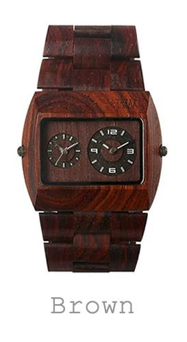 houten horloge bruin WeWood