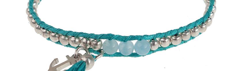 lime kleurige armband