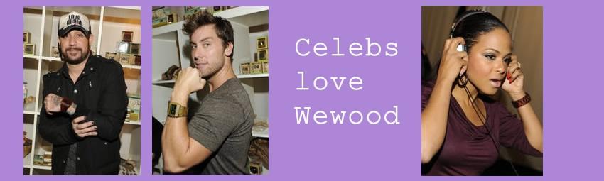 Celebs love WeWood Christina Milian