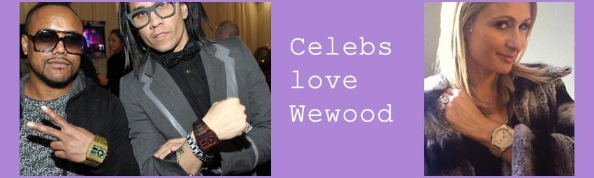 WeWood Celebs love Wewood Black eyed pies & Paris Hilton