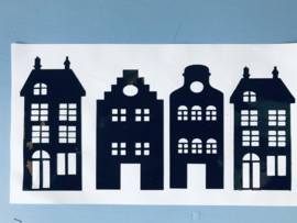 stickers 4 huisjes
