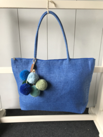 Tas paperbag blue
