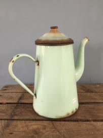 Franse oude koffiekan