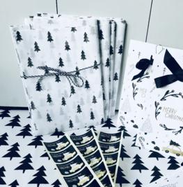 Kerst tissuepapier
