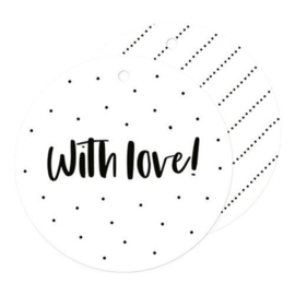 cadeaulabel I with love