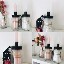 Candle Jar I M I 4 kaarsjes