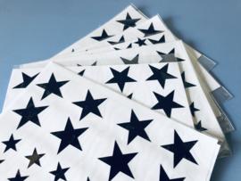 sterren stickers zwart