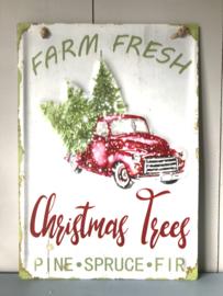 Muurhanger Christmas trees