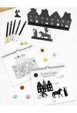 Sinterklaas I aftelkalender en doeboek