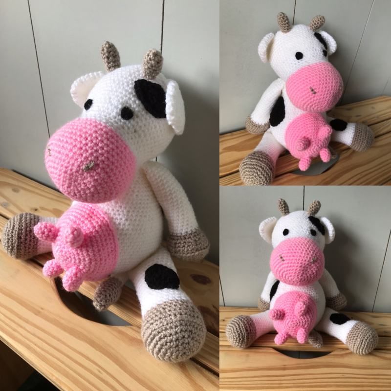 Knuffel koe