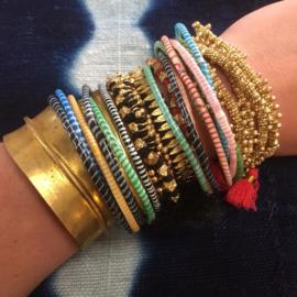 Van Verre Flip-Flop armbandjes (set 6 stuks)