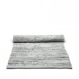 Rug Solid Lederen Vloerkleed Light Grey / div. afmetingen